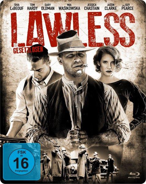 Lawless - Die Gesetzlosen (Steelbook Edition) [Blu-ray] für 6 €