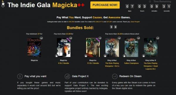 [Steam] Magicka ab $1 @[Indie Gala] Magicka Weekly
