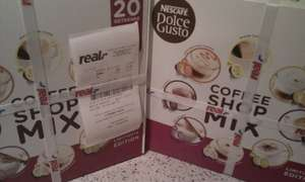 [Lokal] Real Bremen Vahr (Bundesweit?) - Dolce Gusto Coffee Shop Mixpaket 5€ 20 Getränke