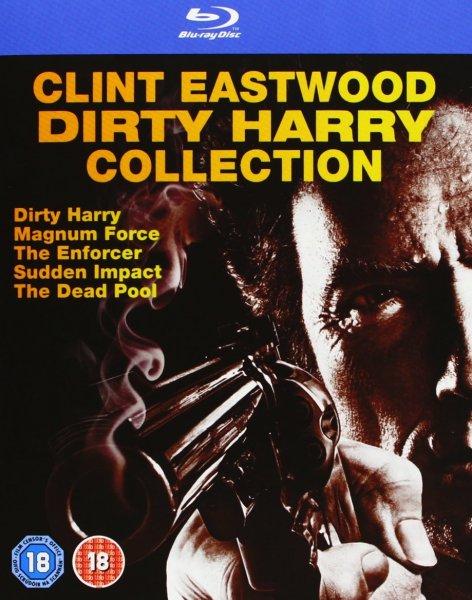Blu-ray Box - Dirty Harry Collection (5 Discs) für €20,77 [@Amazon.co.uk]