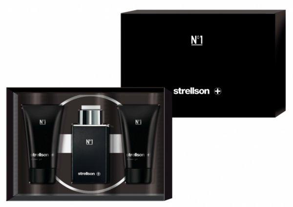 dergepflegtemann: Strellson: N°1 Set 3-teilig EDT 50 ml + Shower Gel 2 x 75 ml  + gratis Kopfhörer + Shower Gel 75 ml nur 29,45