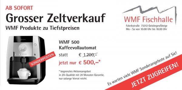 "[LOKAL - GEISLINGEN] Kaffeevollautomat ""WMF 500"" für 500,00"