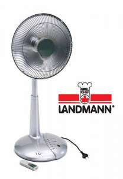 Landmann Elektro Heizstrahler + Timer Terrassenstrahler Heizlüfter Standheizung