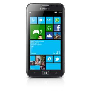 "[Nullprozentshop] Samsung Ativ S 16GB, 4,8"" sAMOLED 720p, DC 1,5 GHz, 1GB RAM, 8MP Cam, NFC, WP8"