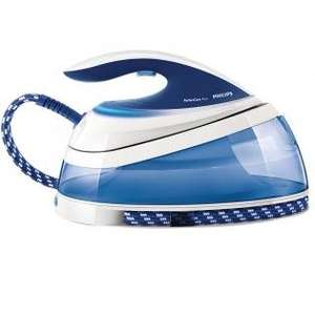 [Do. 26.09.13] REAL - Philips GC7619/20 PerfectCare Pure Dampfbügelstation (OptimalTEMP), blau-weiß + Gratis dazu :  2 PureSteam-Filter - 111,20 € - Idealo: 159,99 € - Ersparnis: ca. 31 %