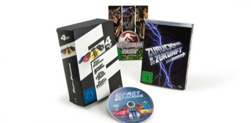 [Offline-Österreich] Fast & Furious 1-4 DVD-Box um € 9,99