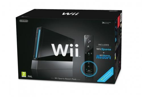 """Wii """"Sports Resort Pak"""" schwarz mit Motion Plus für rund 119€ @ Amazon.UK"""