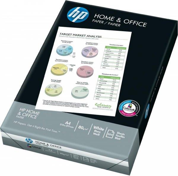 Kopierpapier HP Home & Office 500Blatt effektiv 2,16€/Pack bei 11 Stück (5500 Blatt) @smdv