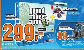 [Lokal HH] Playstation 3 (500GB) inkl. GTA V und Fifa 14 (nur heute??)