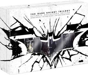 The Dark Knight Trilogy [Blu-ray] [Limited Collector's Edition] für 65€ @Voelkner