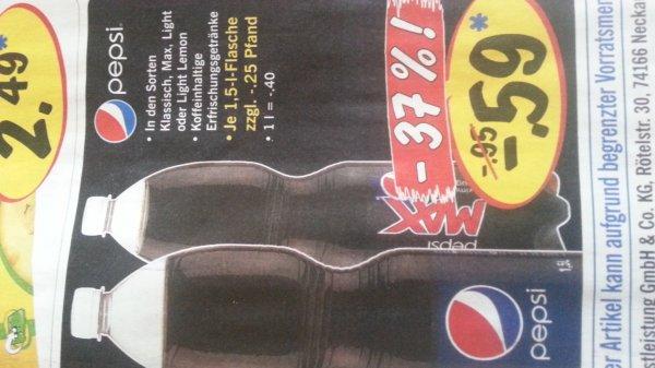 Pepsi 0,39€ ab 23.9 @lidl