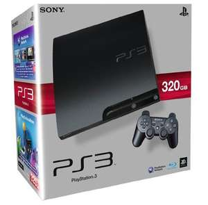 PlayStation 3 - Konsole Slim 320 GB (K-Model) - 199 Euro bei Amazon Marketplace (NEU)