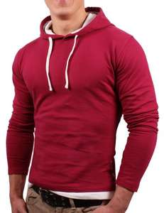 Bents & Mood Slim Fit Shirt Hoodie Durden Longsleeve 6 Farben (49% Ersparnis) @Amazon