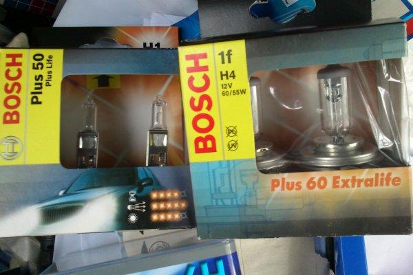 Bosch H1 PLUS 50 bzw. H4 PLUS 60 Birnen im Doppelpack, Kaufland Bremen ab 1,59€
