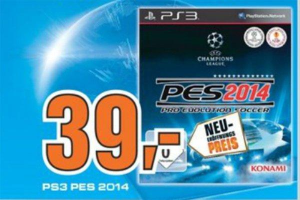 Offline Paderborn: Pro Evolution Soccer PES 2014 für 39 Euro