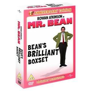 (UK) Mr Bean: Bean's Brilliant Box Set (Digitally Remastered 20th Anniversary Edition) [4 x DVD] für 9.45€ @ play (mecoduEU)