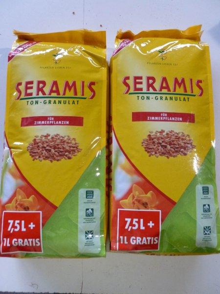 [LIDL] Seramis Ton-Granulat für alle Zimmerpflanzen 7,5 + 1 Liter gratis für 3,99 €