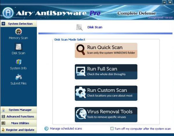 Airy AntiSpywar Pro 2013 heute kostenlos