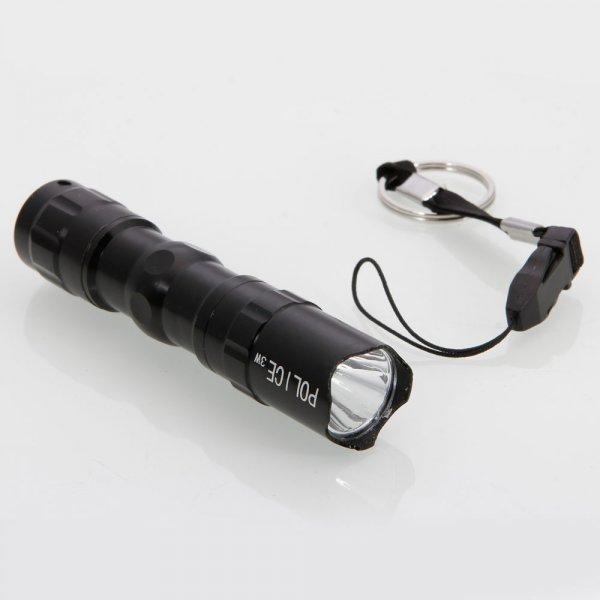 0,01€ 3W 50 Lumen Aluminium LED Taschenlampe