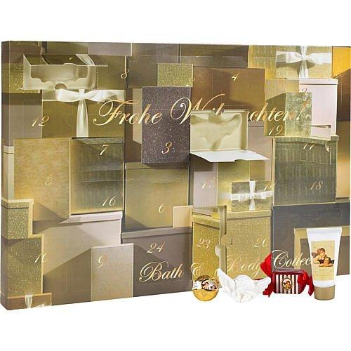 Goldener Adventskalender von Accentra Kosmetik Ac., Bath & Body Collection - Aktuell kein Bestand mehr vorhanden