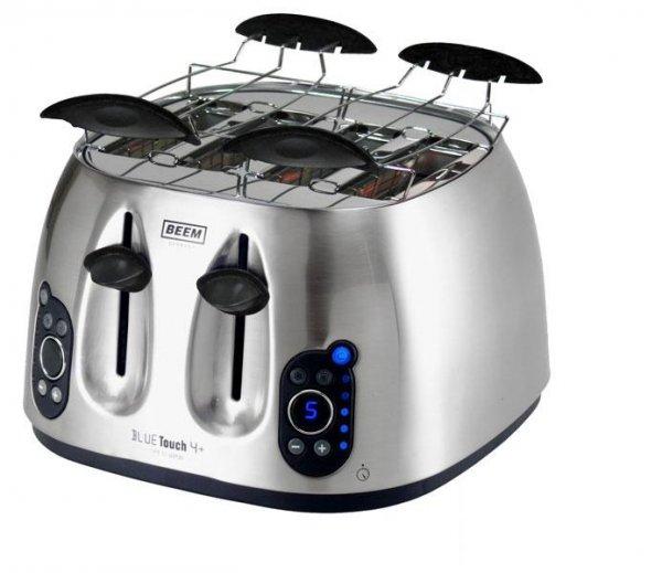BEEM Blue Touch 4+ Toaster, Vierschlitz-Toaster @ebay 29,99€