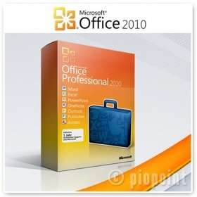 Microsoft Office 2010 Professional Vollversion Lizenz + 4350 Rakutenpunkte