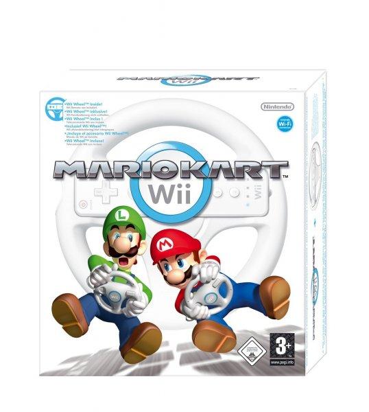 Nintendo™ - Mario Kart Wii + Wheel für €27,13 [@Shopto.net]