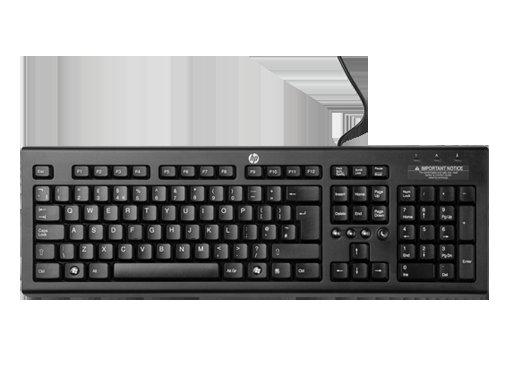 HP Tastatur inkl. Gratisartikel bei Druckerzubehör (inkl. Versand)
