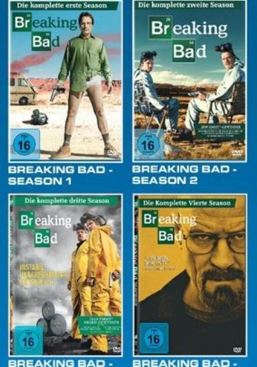 Breaking Bad DVD: 9 Euro pro komplette Staffel!!!