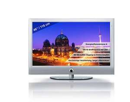 Loewe Xelos 46 100 Hz LED TV in Silber  für 836,07 €