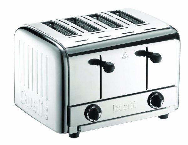 Dualit 49910 Catering Pop-up Toaster für 4 Scheiben nur 479€