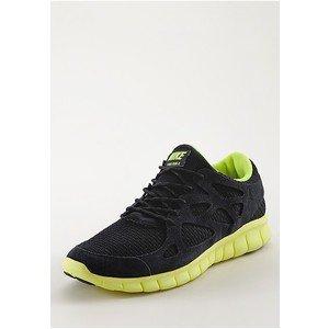 NIKE Free Run+ 2 in schwarz/gelb für 75,72€ @frontline