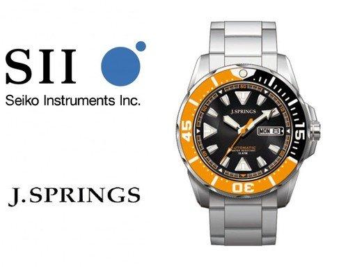 Nur 4 Stück: J.Springs (Seiko) BEB078 Automatikuhr, sommerlicher Diver :-)