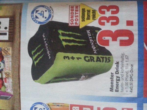 [Lokal? Bremen] Monster Energy Drink 4er-pack 3,33€