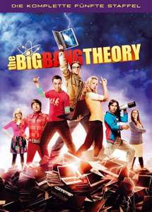 The Big Bang Theory Staffel 5 [DVD] 19,99 @ Amazon