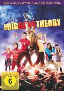 [Cede.de] [Dvd] The Big Bang Theory - Die komplette fünfte Staffel