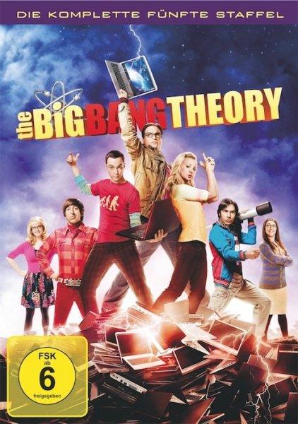 [Cede.de] [Dvd] The Big Bang Theory - Die komplette fünfte Staffel