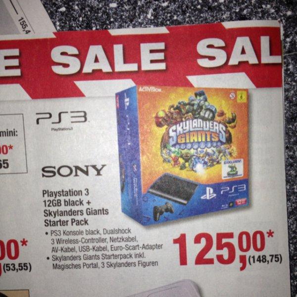 Playstation 3 12gb + Skylanders Giants ( Metro Berlin)