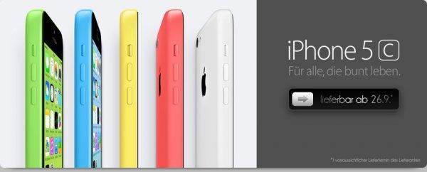 Iphone 5C mit Allnet-Flat im Vodafone/o2 Netz für nur 29€ Zuzahlung! AllNet Flat und 500 MB, SMS für 0,09 Euro. Rechnerisch für den Tarif alleine: im o2 Netz 9,03€ monatlich und 12,03€ monatlich im Vodafone Netz