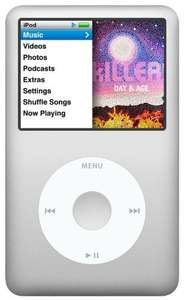 Apple iPod Classic 160GB 6th Generation - 185 Euro @ amazon.co.uk