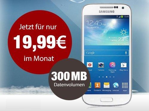 Samsung Galaxy S4 Mini + o2 Blue All-in S = 22,07 mtl.