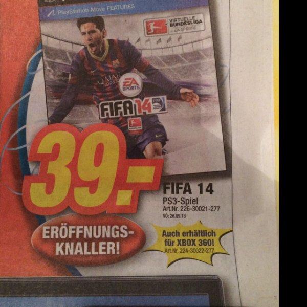 FIFA 14 PS3 / XBox expert Würzburg (lokal)