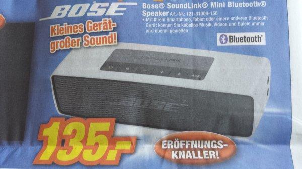 [LOKAL WÜRZBURG] Bose Soundlink Mini bei Expert Beck
