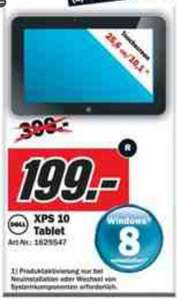 [Local Mediamarkt Alzey /Mainz /Bischhofsheim ] Dell XPS 10 Tablet PC für 199 €