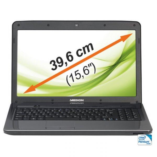 """Medion """"B"""" 15.6"""" Notebook 4GB RAM/ 500GB HDD zu 249 € @ebay"""