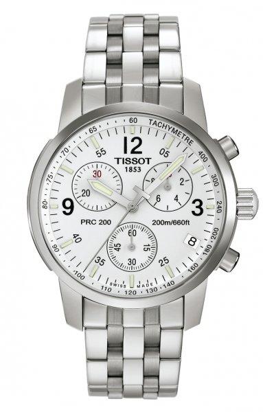 Tissot Herren-Armbanduhr XL PRC 200 Chronograph Quarz Edelstahl für 229,72 Euro