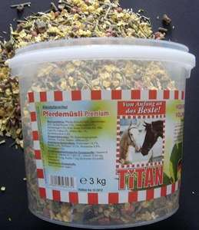 Pferdemüsli 10 kg /7,50 € oder 20 kg/14,40 €