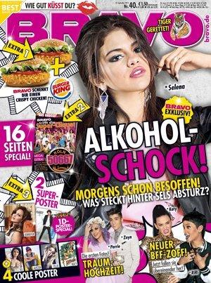 """Zeitschrift """"Bravo"""" mit Gutschein für Gratis Crispy Chicken bei BurgerKing!"""