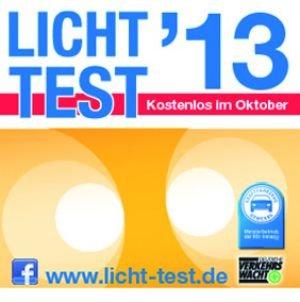 Gratis Lichttest in versch. Städten in Deutschland im Oktober 2013 | (teilweise schon Ende September)