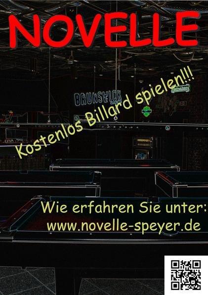 [Lokal Speyer] 30min kostenlos Billard spielen